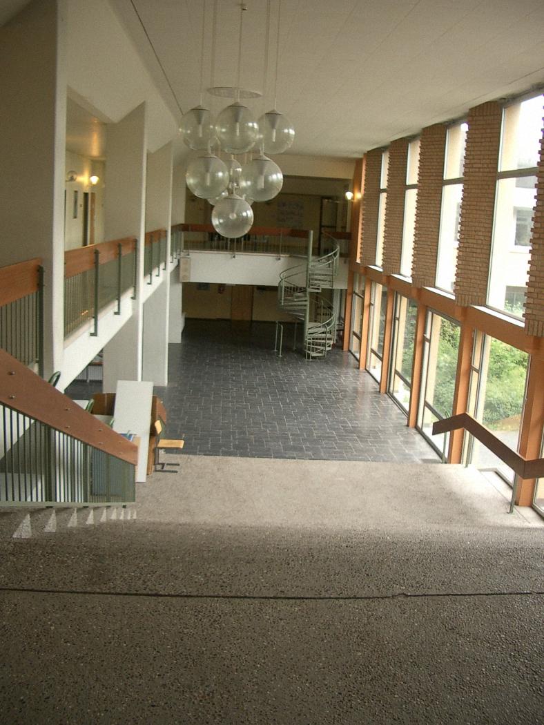 Atrium von oben 2005.