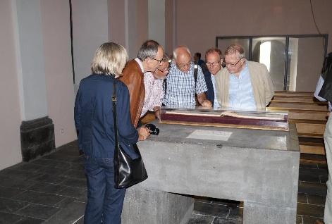 Gruppe In der Heilig-Geist-Kapelle