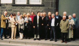 Gruppe 2006 vor dem alten Gymnasium