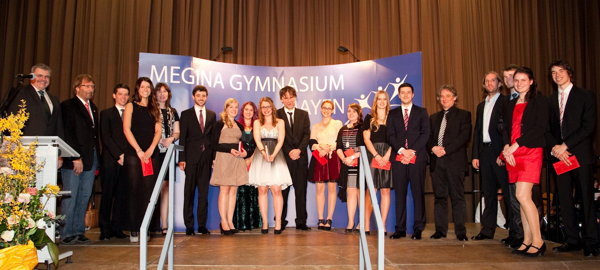 Abiturientia 2014 Ehrungen BigBand Lauf-AG Theater-AG